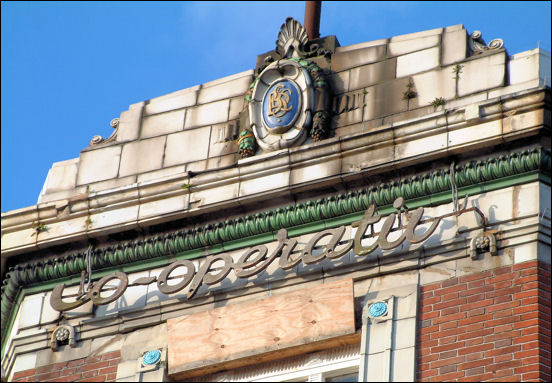 Co-operation in Burslem - built in 1931