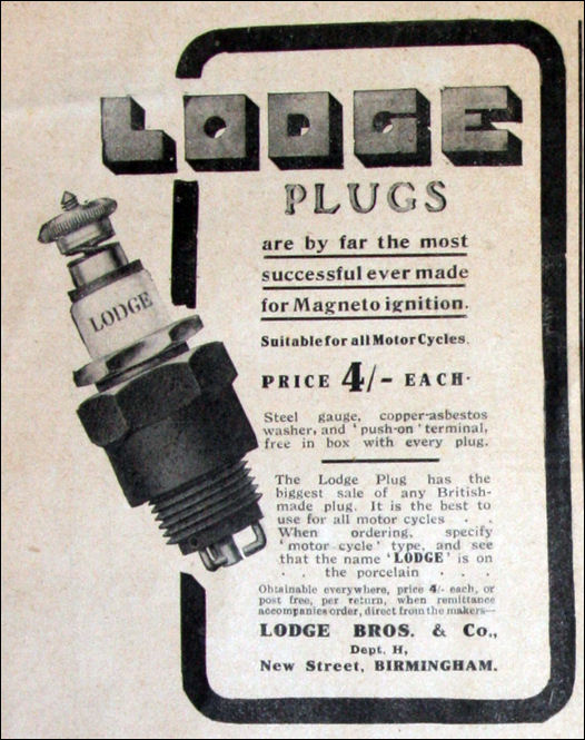 Lodge Electric Spark Plugs