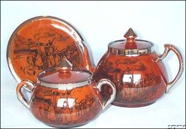 early Tea Set with c.1928 mark