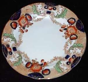 Plate in the Glenwood pattern - mark c.1910+