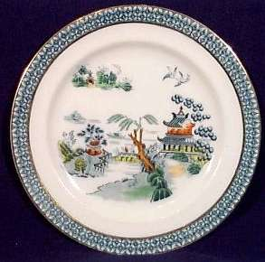 plate in the PEKIN pattern - mark c.1907+
