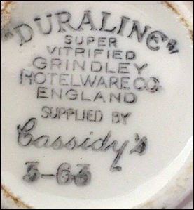 The Grindley Hotel Ware Co Ltd