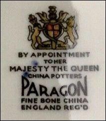 Fine china paragon Antique Original