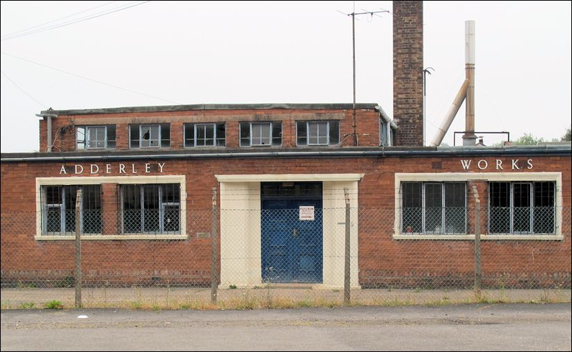 the former Adderley Floral China Works, Sutherland Road, Longton