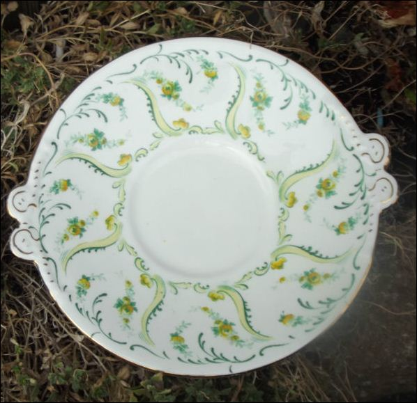 side plate in the Constance pattern