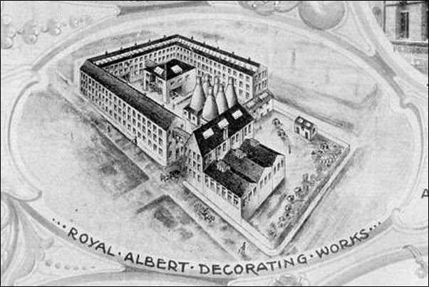 Alfred Meakin - Royal Albert Decorating Works