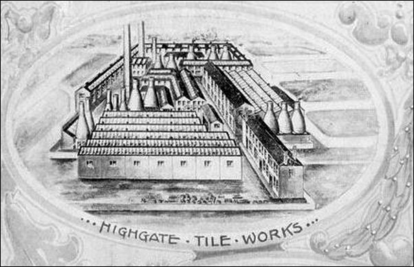 Alfred Meakin - Highgate Tile Works
