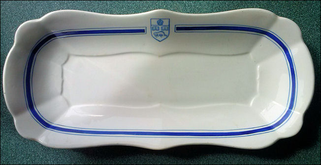 Serving dish made for Spence, McInture & Nanton Ltd, Montreal, Canada