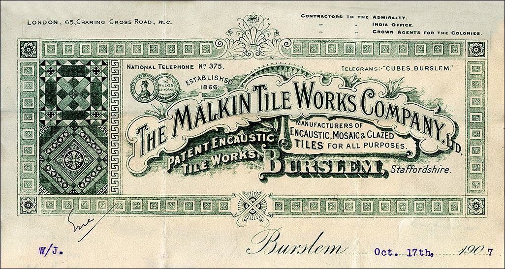 The Malkin Tile Works Company Ltd