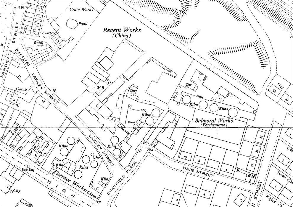 Regent Works, Longton