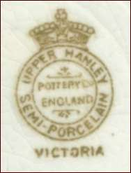 UPPER HANLEY POTTERY Co