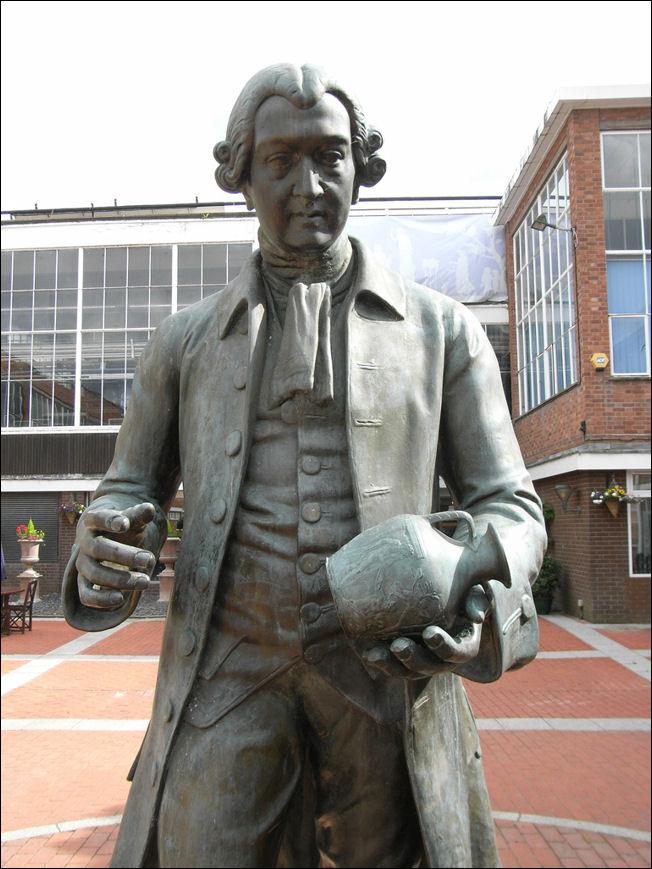 Statue Of Josiah Wedgwood 1730 1795 By Edward Davis