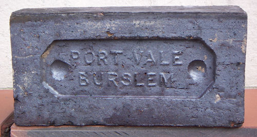 Staffordshire Blue Brick from the Midland and Port Vale Tileries, Longport