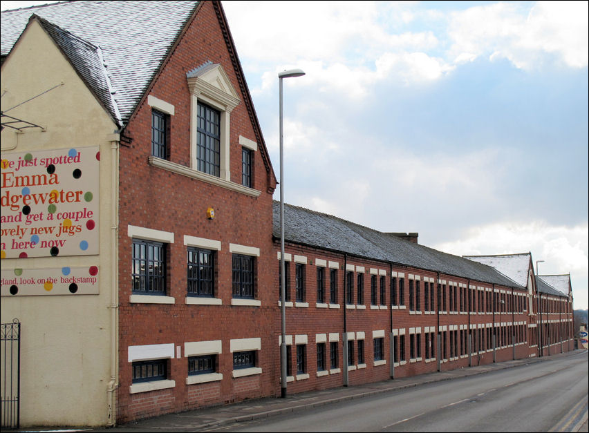 Emma Bridgewater factory on Lichfield Street, Hanley