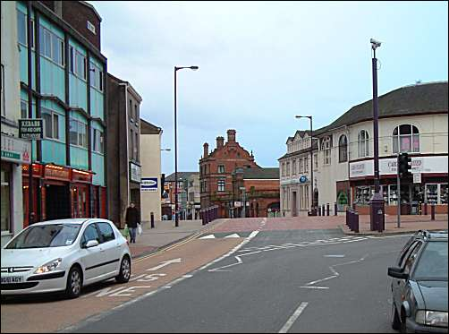 Campbell Square in Church Street, Stoke