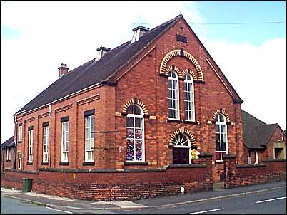 Methodist Church on the corner of Fenpark Road and Fenton Park
