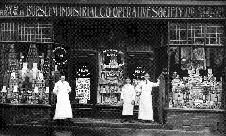 No. 9 Branch. Burslem Industrial Co-operative Society Ltd