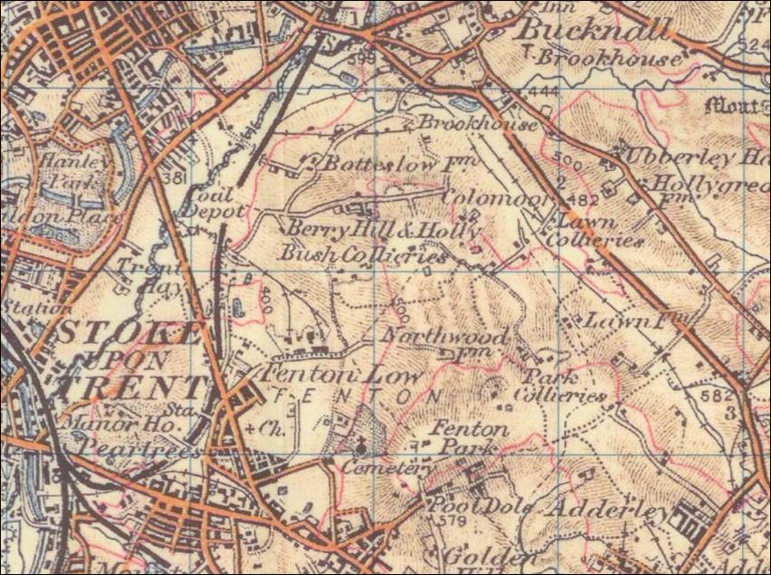 Old Ordnance Survey Maps 1960 1902 Ordnance Survey Map