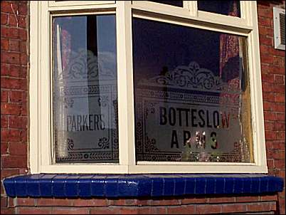 Botteslow Arms / Parkers Brewery windows