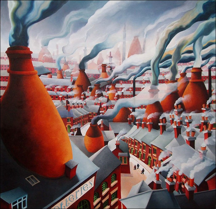 """The Vanished Landscape of The Potteries"""