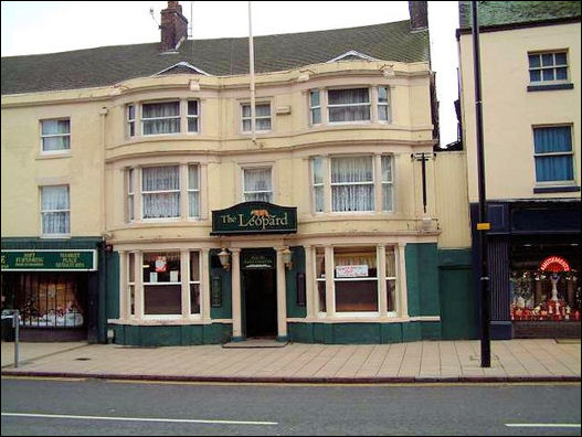 Leopard Inn, number 21 Market Place, Burslem