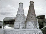 Bottle Kilns at Johnson Bros.