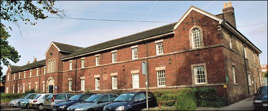 Former school at Stoke-on-Trent Union Workhouse