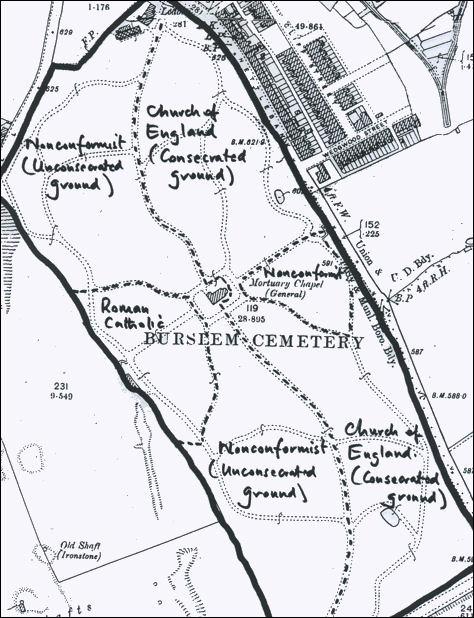 Burslem Cemetery Nettlebank Hanley Road Burslem