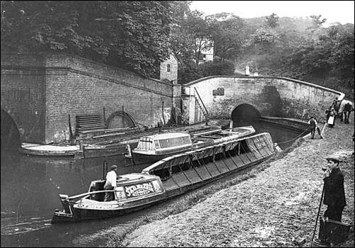The Kidsgrove Boggart - English Folklore  Tunnel1