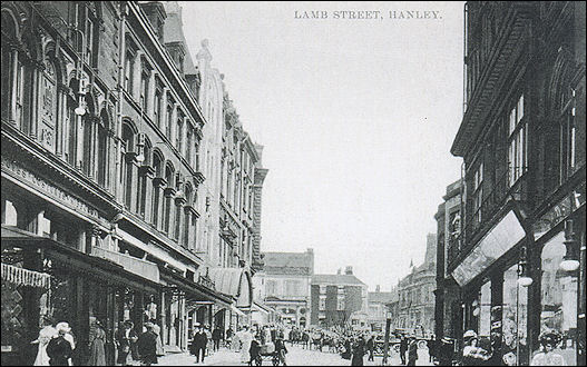 looking up Lamb Street towards Market Square