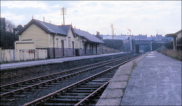 Cobridge station looking towards Hanley