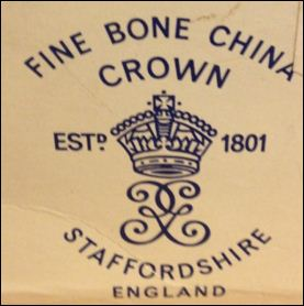 Crown bone china marks