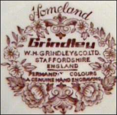 Vintage W. H. Grindley & Co. China