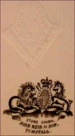 Masons ironstone marks