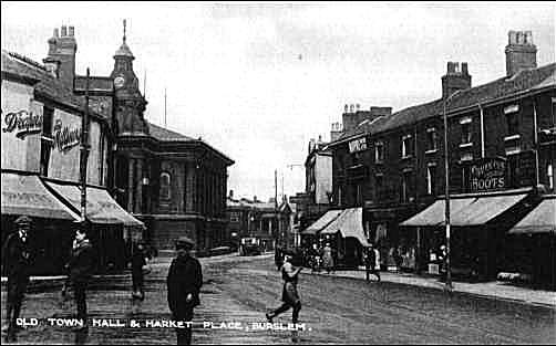 Postcard of Market Place