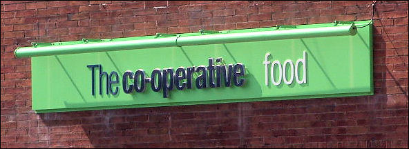 now the co-operative food shop
