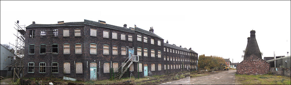 Falcon Pottery works, Stoke