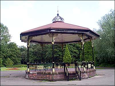 The bandstand in Hanley Park was the benefaction of George Howson (1818-96).