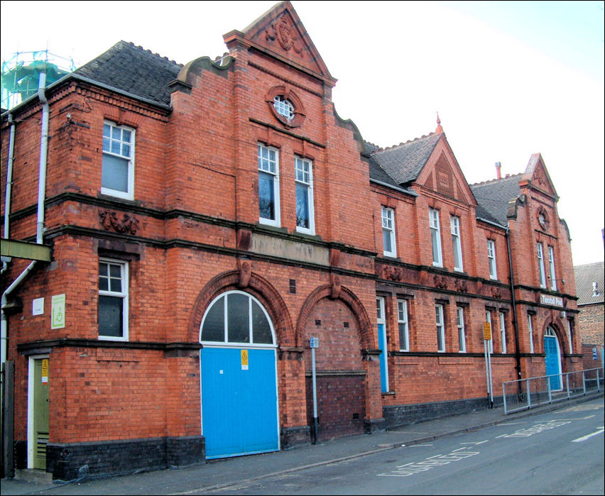Public Swimming Baths Tunstall Stoke On Trent
