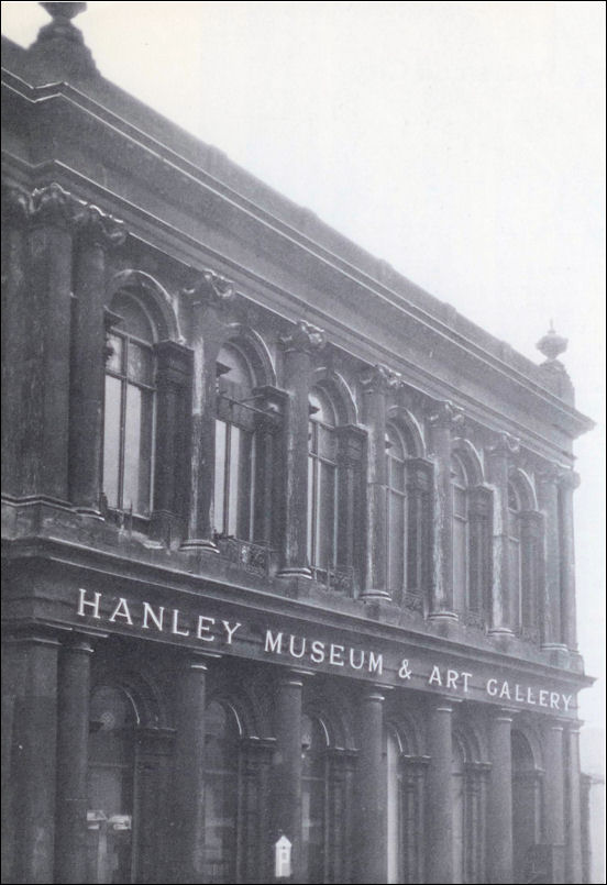 1947 - the main City Museum and Art Gallery in Pall Mall, Hanley