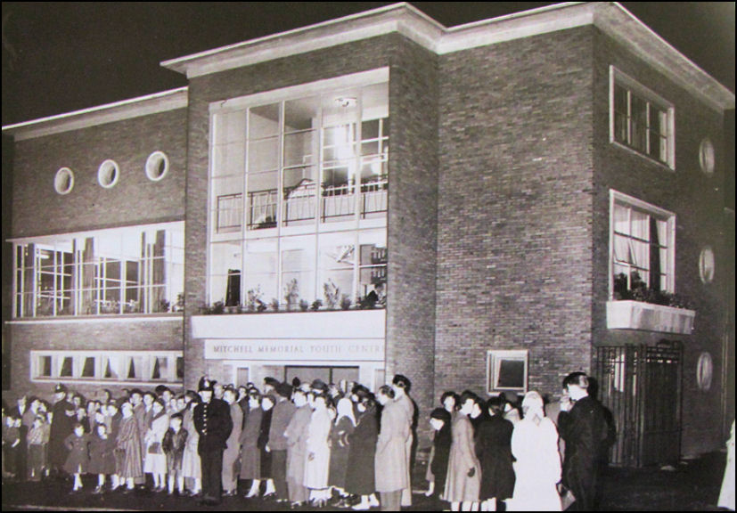 Mitchell Memorial Youth Centre opening ceremony in 1957