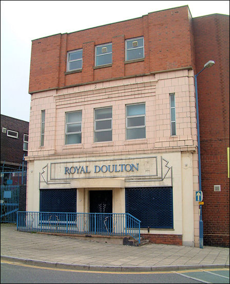 Royal Doulton Art Deco style Factory shop, Burslem