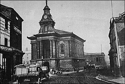 1875 photograph of the Town Hall