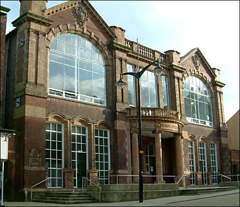 School of Art, Queen Street, Burslem