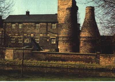 Bottle Kilns at the Cliff Vale Potteries