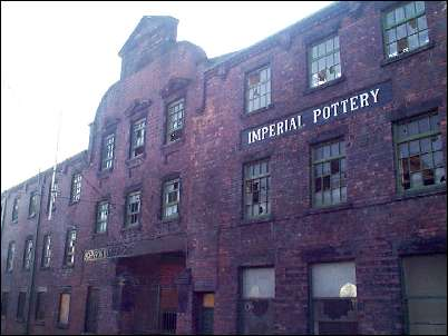 former Johnson Brothers Imperial Pottery
