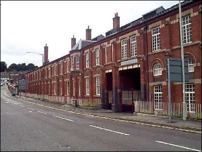 Front range of the Minton Hollins Tile Company Ltd, Shelton Old Road