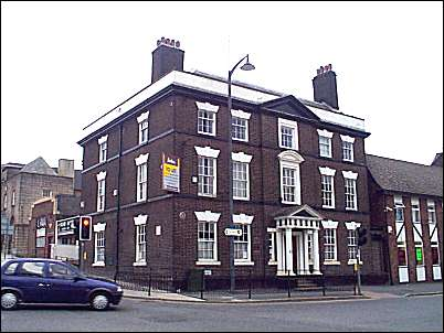 Wedgwood's Big House, Burslem - once occupied by Midlands Bank
