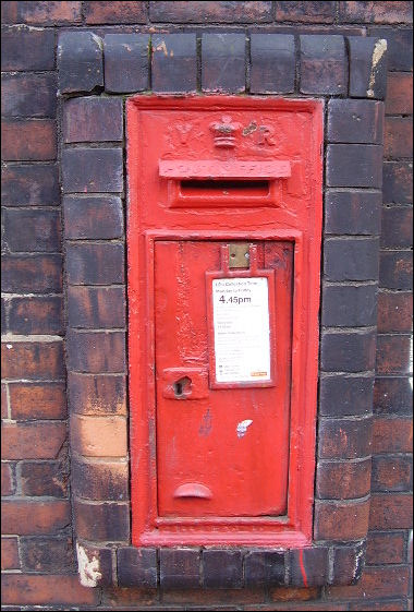 Victorian Post Boxes In Stoke On Trent