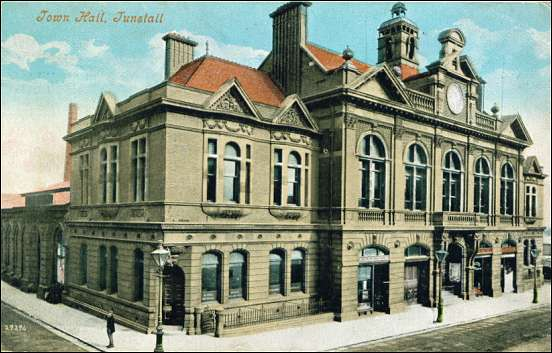 Listed Buildings In Stoke On Trent 163a Tunstall Town Hall